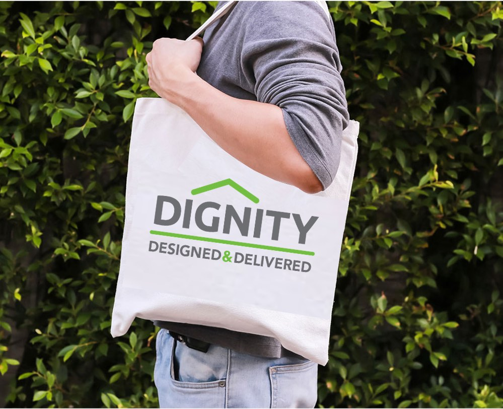 Dignity Designed Charity Bag